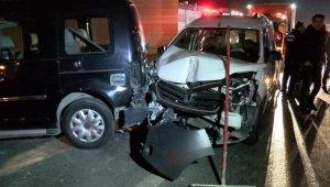 Aynı noktada iki kaza: 7 yaralı