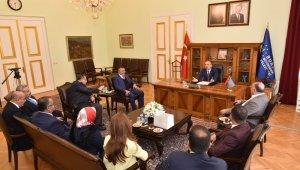 Azeri işadamlarından Başkan Aktaş'a ziyaret - Bursa Haberleri