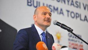 """Bakan Soylu: """"Şer ittifakının partileri, 'Biz HDP'yi taşımıyoruz'demiyor"""" - Bursa Haberleri"""
