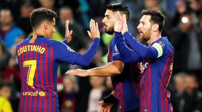 Barcelona, Lyon'u 5-1 mağlup ederek Çeyrek Finale yükseldi