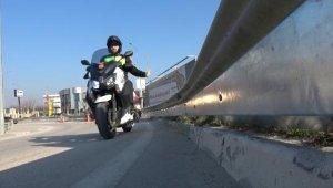 Bursa'da 'motorcu dostu bariyer' uygulaması - Bursa Haberleri
