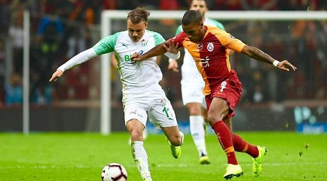 Bursaspor evinde Galatasaray'a karşı üstün - Bursa Haberleri