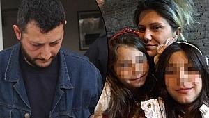 Çocuklarının gözleri önünde bıçakladı... Kızı araya girmek istedi ama...