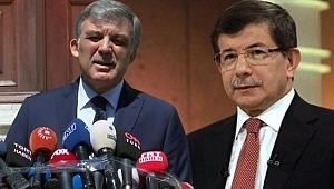 Çok Konuşulan İki İsim Abdullah Gül ve Ahmet Davutoğlu Ekrana Çıktı