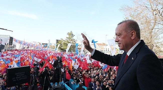 """Cumhurbaşkanı Erdoğan, """"31 Mart Türkiye'nin en önemli seçimlerinden biridir"""""""
