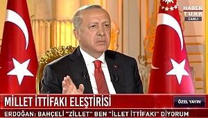 Cumhurbaşkanı Erdoğan'dan, Meral Akşener'e: Tayyip Erdoğan Böyle Bir Şeye Tahammül Edemez