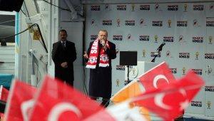 Cumhurbaşkanı Erdoğan'dan çok sert açıklamalar: Bu taklacıya öyle bir ders verin ki karşınıza çıkmaya yüz bulamasın