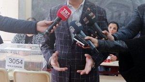 Cumhurbaşkanı Yardımcısı Oktay oyunu kullandı