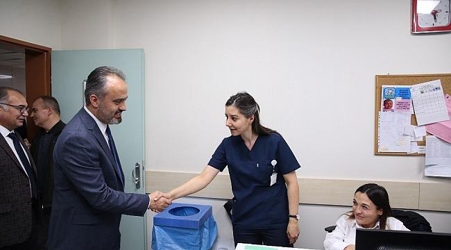 Doktorlara bayram ziyareti - Bursa Haberleri