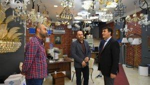 Dündar, Gazcılar Caddesi esnafını ziyaret etti - Bursa Haberleri