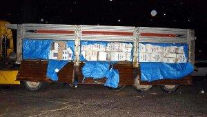 Gaziantep'te 638 bin paket kaçak sigara ele geçirildi