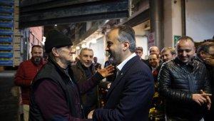 Hal esnafı Başkan Aktaş'ı alkışlarla karşıladı - Bursa Haberleri