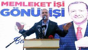 """İçişleri Bakanı Süleyman Soylu: """"Emniyet güçlerine yarım saat içerisinde onları alın dedim"""""""