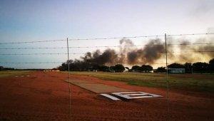 İnanılmaz Olay! Eşine Öfkelenen Pilot Kulüb Binasına Daldı
