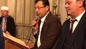 İstanbul Belediye Başkan Adayı Ekrem İmamoğlu, Yeni Zelanda'da Katledilen Müslümanlar İçin YASİN Okudu