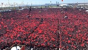 İstanbul, Yenikapı Mitinginde Kaç Kişi Toplandı Cumhurbaşkanı Erdoğan Açıkladı