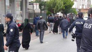 İstanbul'da taşlı sopalı kavga