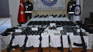 Kaçak silah fabrikasına helikopterli operasyon: 46 gözaltı