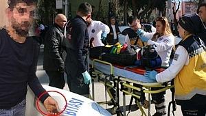 Kadın Polis'i Dövüp Kaçmaya Çalışan Saldırganın Elindeki Detay Dikkat Çekti!