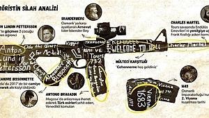 Katliam yapan teröristin kullandığı silahın şifreleri