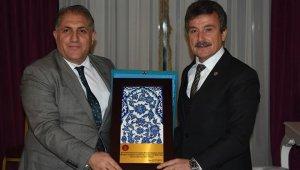 Kaymakam Seyitoğlu'ndan Başkan Çelik'e vedâ yemeği - Bursa Haberleri