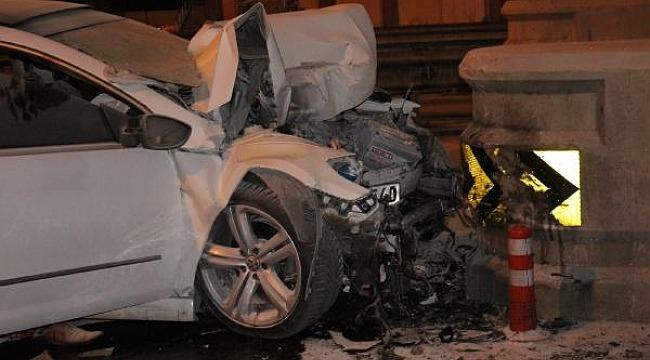 Korkunç trafik kazası: 2 ölü, 1 yaralı