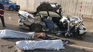 Malatya'da feci kaza: 2 ölü, 3 ağır yaralı