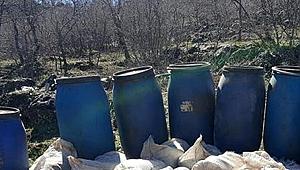 Mardin'de yaklaşık 2 ton ele geçirildi