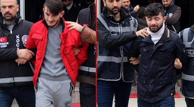 'Maskeli Beşler' tutuklandı