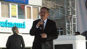 """Mehmet Özhaseki: """"Yerliyiz, milliyiz ve biz bu bayrağa aşığız"""""""