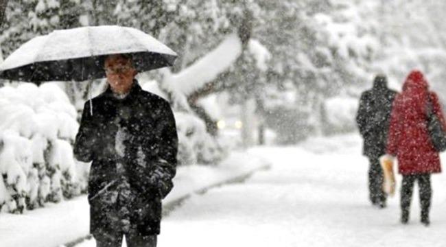 Meteoroloji'den Kuvvetli Kar Yağışı Uyarısı!