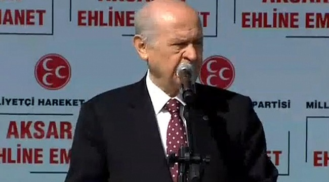 MHP lideri Bahçeli,