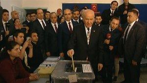 MHP lideri Devlet Bahçeli,