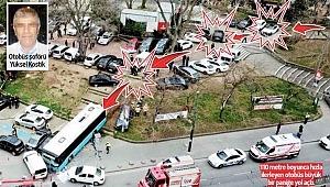 Parktan caddeye eze eze... Tuhaf kazalar günü