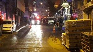 Polis, iş yeri güvenlik görevlisini bacağından vurdu