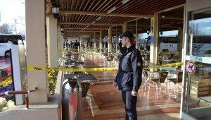 Polis memuru, dinlenme tesisinde silahlı saldırıya uğradı
