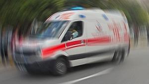 Polislerin midibüsü devrildi: 13 yaralı