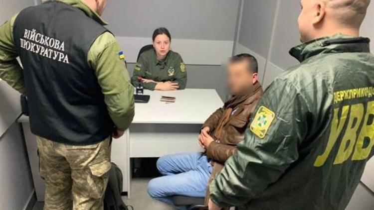Rüşvetle Ukrayna'ya girmek isteyen iki Türk gözaltına alındı