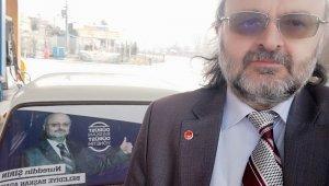 Saadet'in belediye başkan adayının mitingini 1 kişi dinledi