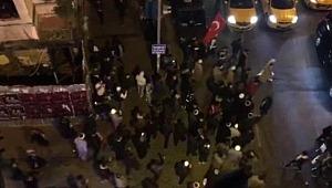 Taksim Yine Karıştı! Tekbir Getirerek Sokaklarda Yürüdüler