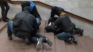 Ukrayna'da metroda bomba alarmı