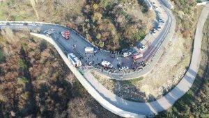 Uludağ yolunda 48 kişinin yaralandığı kazada şoför serbest - Bursa Haberleri