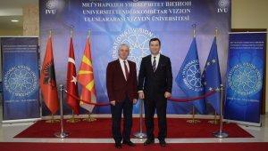 Uluslararası Vizyon Üniversitesi ile Balkan Üniversitesi arasında işbirliği - Bursa Haberleri