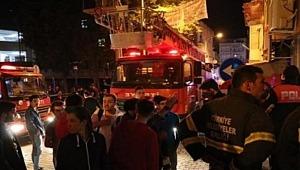 Yangın Merdiveninin Kilitli Olduğu 40 Öğrencinin Kaldığı Pansiyonda Can Pazarı!