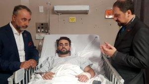 Yeni Zelanda'daki yaralı Türk saldırıdan saniyeler sonra görüntülendi