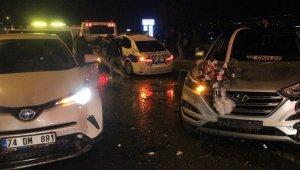 8 aracın karıştığı zincirleme kaza