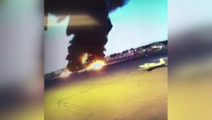 ABD'de pilotun hayatını kaybettiği uçak kazası