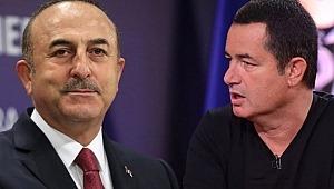 Acun Ilıcalı'dan Mevlüt Çavuşoğlu'na tam destek