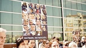 'Adalete kendimizi göstermek için buradayız'