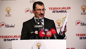 AK Parti'den CHP'nin İstanbul İtirazına İlişkin Son Dakika Açıklama: CHP Sayımları Durdurttu